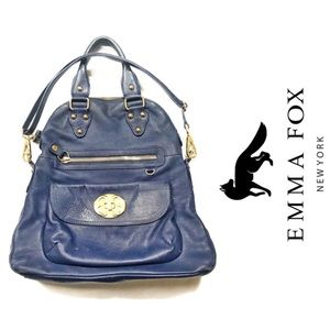 Handbags - Emma Fox Foldable Satchel Bag with Strap